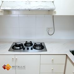 Previously a badly stained and cracked granite countertop, it has been given a new lease of life with a brown black mixed marble design coat, finished with a protective topcoat.  Metallic Epoxy Singapore coating are more than just aesthetically pleasing, they are durable and practical. Drop us a message or head to www.metallicepoxy.sg to find out more!  #MetallicEpoxy #MetallicEpoxySingapore #MetallicEpoxySG #SingaporeMetallicEpoxySpecialist #homedecor #DesignerEpoxy #Countertop #Refurbish… Epoxy Countertop, Granite Countertops, Topcoat, Singapore, Marble, Metallic, Kitchen Appliances, Design Ideas, Drop
