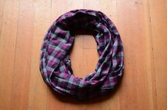 Gifts For Her Gifts For Him Plaid Infinity by RailroadAndHolly