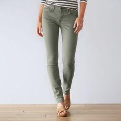 e3e61ad0c02 Women s SONOMA Goods for Life™ Sateen Skinny Pants