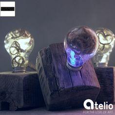 Światło na jutę. Autor: Palletworld. Do kupienia w atelio.pl. #design #light #lighting #pallet