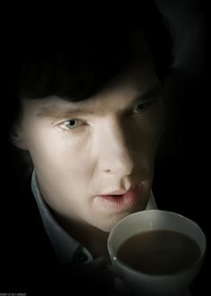 Benedict Cumberbatch drinking tea. You can't really beat that.