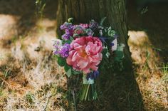 Beautiful wedding bouquet by I heart Flowers. Photo by http://www.kitchenerphotography.co.uk/