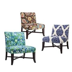 Owen slipper chair collection! I want the brown paisley one