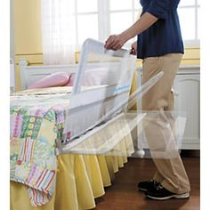 Hide Away Extra Long And Tall Bed Rail From One Step Ahead