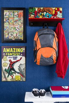 Set the scene for your superhero with save-the-day décor featuring some of 3ad37b3267