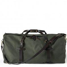 70223-OT Filson Large Duffle Bag - Otter Green www.bootbay.com