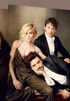 Vanity Fair Magazine's 2015 Hollywood Issue featuring Oscar Isaac, Sienna Miller, & Miles Teller ~ Photo by Annie Leibovitz