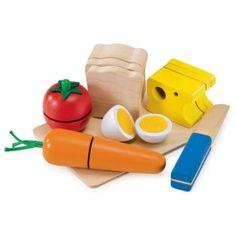 Selecta houten speelgoed snijfruit picknick