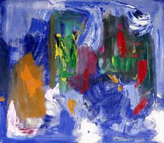 Hans Hofmann, X Orange, 1959, oil on canvas, Gift of Mari and James A. Michener, 1991.