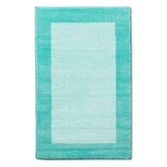 Border Rug - Pillowfort, Light Mint