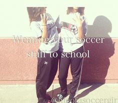 Your Speed During Soccer Training Wearing your soccer stuff to school.Wearing your soccer stuff to school. Soccer Girl Probs, Girls Soccer, Play Soccer, Football Soccer, Soccer Ball, Soccer Stuff, Ronaldo Soccer, Basketball Court, Soccer Goalie