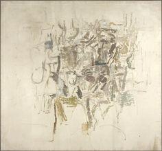 White Painting I, 1951, Philip Guston