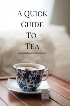 Tea can come in so many different varieties, but did you know that it all starts from the same leaf? Check out this post for more information on green tea, white tea, oolong tea, and black tea. Best Herbal Tea, Best Tea, Winter Tea Recipe, Best Matcha Tea, Tea Etiquette, Different Types Of Tea, Afternoon Tea Recipes, Green Tea Benefits, Tea Brands