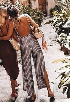 The low back jumpsuit