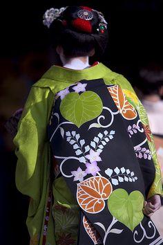 Obi kimono