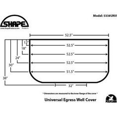 Universal Fit Polycarbonate Window Well Cover The Home Depot