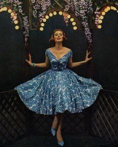 1959 dress #fifties #vintage