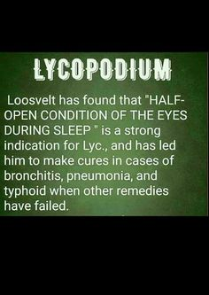 Key Symptoms for Lycopodium!