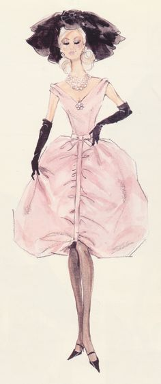 nice (¯`'•.ೋ… Robert Best- Fashion Designer for Barbie Illustration, Barbie Fashion C... Fashion designers Check more at http://pinfashion.top/pin/55968/