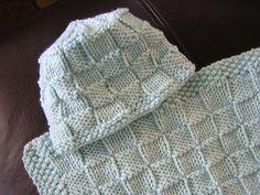 Ravelry: Checkerboard Baby Hat pattern by Heidi Sunday