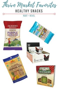 Save money and nourish your body + home with Thrive Market's natural, healthy foods + products at wholesale prices. Here are my Thrive Market favorites. | rootandrevel.com