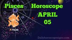 Pisces Daily Horoscope:(Love,Career,Wellness) April 05, 2015 Sagittarius Horoscope Today, Scorpio Daily Horoscope, Aquarius Daily, Cancer Horoscope, Horoscopes, Career, Wellness, Zodiac, Carrera