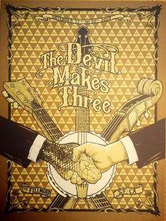 Devil Makes Three - San Francisco, CA 2013 - by Benjamin Nylen