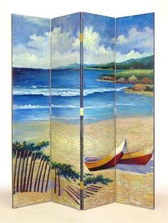 Wayborn Furniture 2255 The Beach Room Divider - Decor Universe