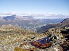 view from mt Røggjin, Hemsedal, Buskerud