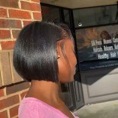 Black Girl Short Hairstyles, Short Sassy Hair, Kids Braided Hairstyles, Cute Hairstyles For Short Hair, Short Hair Cuts, Curly Hair Styles, Short Relaxed Hair, Natural Hair Bob, Pressed Natural Hair