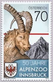 Austria stamp Innsbruck, Ibex Goat, World Wild Life, Harry Potter Poster, Country Of Origin, Travel Posters, Postage Stamps, Mammals, Goats
