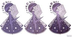 ~Lavender Diamond Mural - Steven Universe~  by CharmmyColour