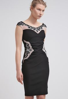 Lipsy Sukienka letnia - black - Zalando.pl