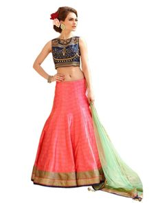 Roza Pink Classic Embroidered Lehenga Choli  Product Info : Lehenga & Choli Fabric : Benglori Silk Dupatta Fabric : Soft Net Inner : Santoon Work Type : Embroidery  Diamond  Price : 1600 INR Only ! #Booknow  World Wide Shipping Available !  PayPal / WU Accepted  C O D Available In India ! Shipping Charges Extra  Stitching Service Available  To order / enquiry  Contact Us : 91 9054562754 ( WhatsApp Only )  #trendalert #trends #tbt #indianwear #potd #photooftheday #london #stylish #style…