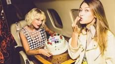Taylor Swift throws Gigi Hadid a party on a private jet while Zayn gives her the best cake ever - Mirror Online