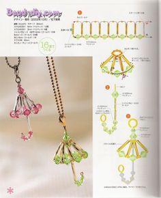 tuto perle pendentif parapluie
