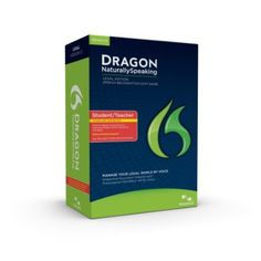 Dragon Naturally Speaking 12 Legal speech recognition software lets you interact with your PC by voice. Special language dictation model. Automatic formatting of legal citations. Importing and sharing of custom word lists. Auto Transcribe Folder Agent and Roaming User features. Remote dictation for automatic transcription to PC, menu items, opens and closes files, or switches from one window to another. Dictate documents, spreadsheets, and presentations Price: $295.79