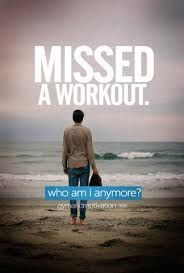 Lol ... This is how I literally feel when I miss a workout. Find more like this at gympins.com