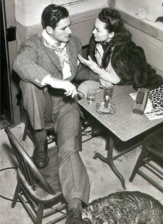 Errol Flynn & Olivia De Havilland