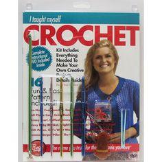 I Taught Myself Crochet Kit