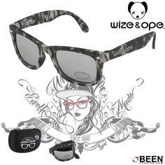 Tu pensa a divertirti, a renderti fashion ci pensa #WIZEandOPE ! http://www.beenfashion.com/it/wize-ope-occhiali-camouflage.html?utm_source=pinterest.com&utm_medium=post&utm_content=wize&ope-occhiali-camouflage&utm_campaign=post-prodotto