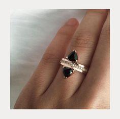 Custom Highland Stack featuring Black Diamonds.