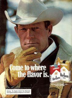 realmensmoke:  Marlboro Man 1977