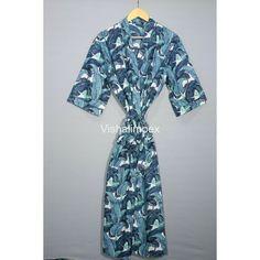Tie Styles, Collar Styles, Kimono Dressing Gown, Bath Robes For Women, Cotton Kimono, Long Kimono, Maxi Gowns, Beach Wear, Vintage Kimono