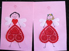 Valentine Fairies - Pinned by #PediaStaff. Visit http://ht.ly/63sNt for all our pediatric therapy pins
