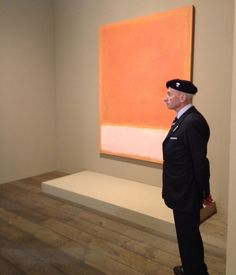 a guarded Rothko at Art Basel http://hyperallergic.com/53551/the-art-fair-ification-of-the-art-world/?wt=2
