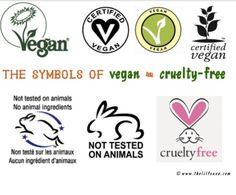 Cruelty free logos to look for while shopping