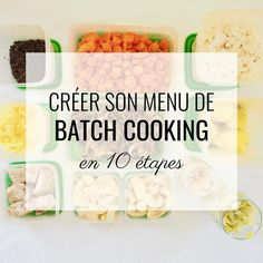 Create a batch cooking menu Batch Cooking, Cooking Recipes, Cooking Ribs, Cooking Ideas, Cooking Mustard Greens, Healthy Eating Tips, Healthy Recipes, How To Cook Ribs, Vegetable Drinks