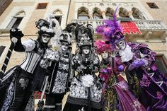 venice carnival costumes | The weekend proved popular at the Venice Carnival 2013 as crowds of ...
