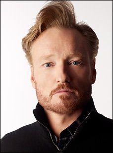 Conan O'Brien's self-depreciating comedic personality